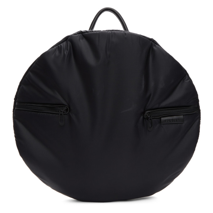 CÔTE AND CIEL Cote And Ciel Black Mimas Moselle Backpack in Black/Grey