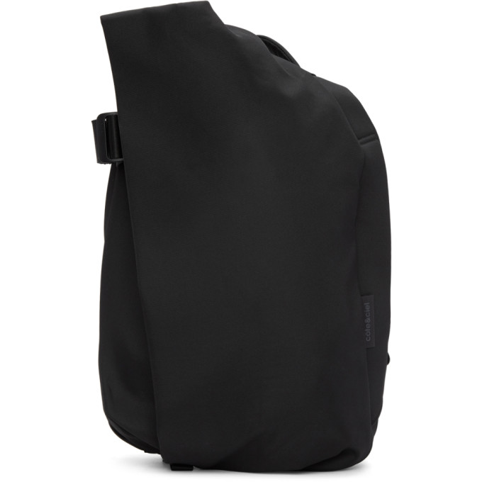 Image of Côte & Ciel Black Medium Isar Backpack