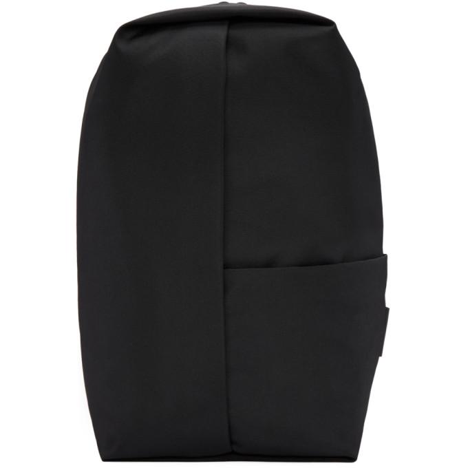 Image of Côte & Ciel Black Eco Yarn Sormonne Backpack