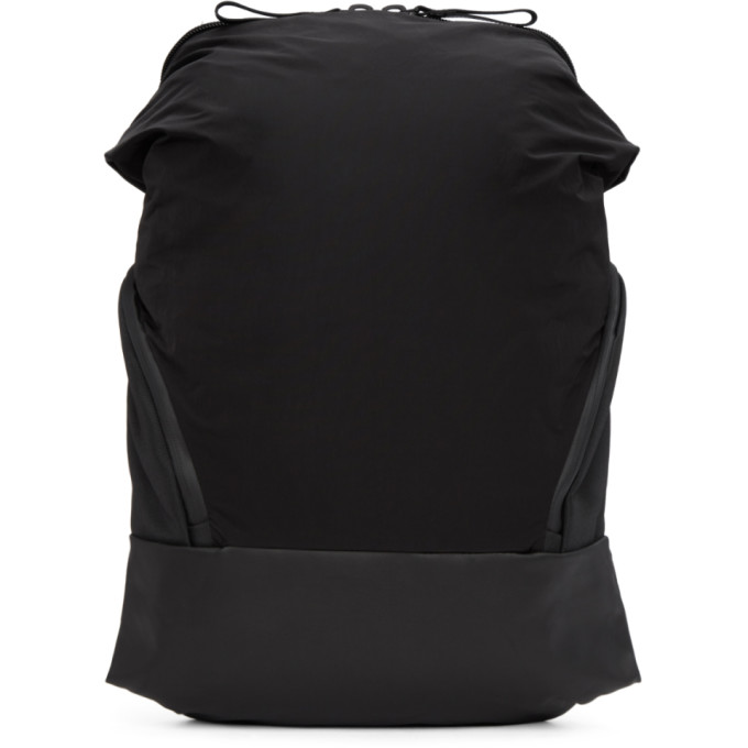 Image of Côte & Ciel Black Memory Tech Timsah Backpack