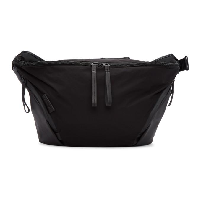 Image of Côte & Ciel Black Memory Tech Oder-Spree Messenger Bag