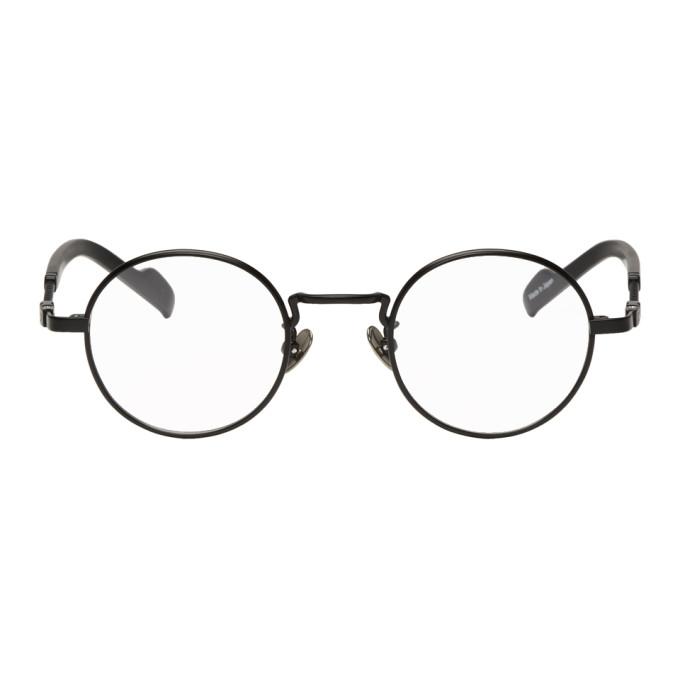 Image of Yohji Yamamoto Black Braided Glasses