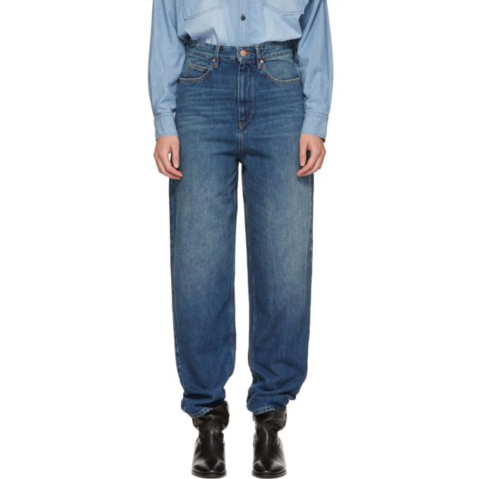 Isabel Marant Etoile Blue Corsy Jeans
