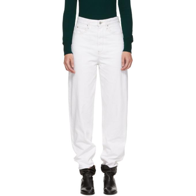 Isabel Marant Etoile White Corsy Jeans
