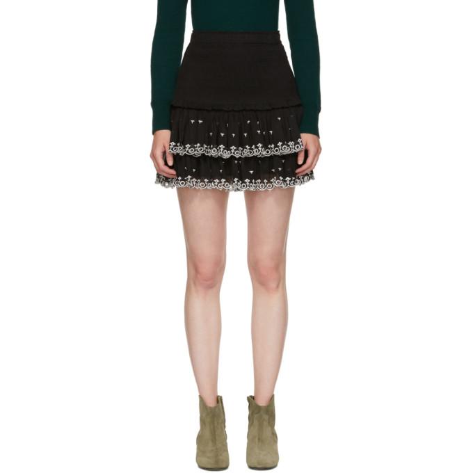 109b35c026d99 Isabel Marant Etoile Black Naomi Skirt