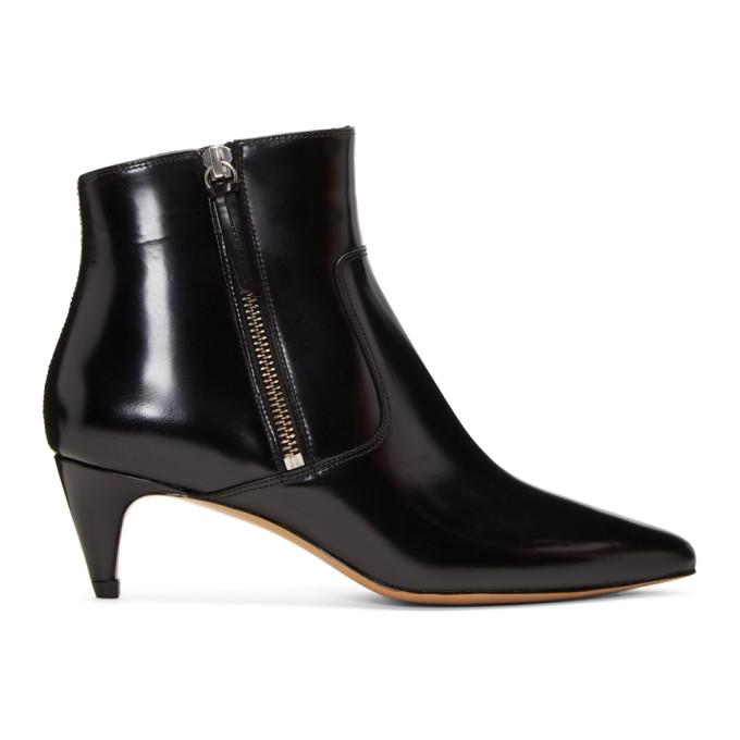 Isabel Marant Black Deby Ankle Boots