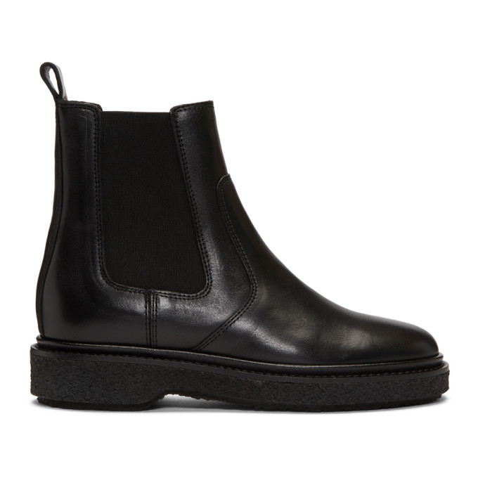 Isabel Marant Black Celtyne Chelsea Boots