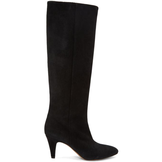 Isabel Marant Black Latsen Boots