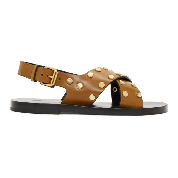 Isabel Marant Brown Jade Sandals