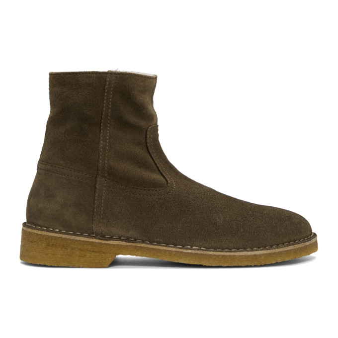 Isabel Marant Taupe Clann Boots