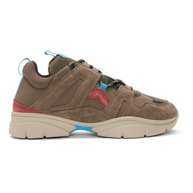 Isabel Marant Grey Kindka Mountain Sneakers
