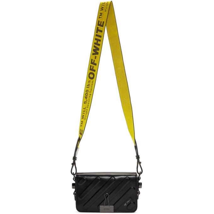 Off-White Black Mini Padded Flap Bag