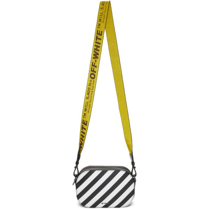 Off-White Black Diagonal Camera Bag
