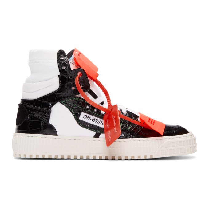 Off-White Black & White Low 3.0 Sneakers