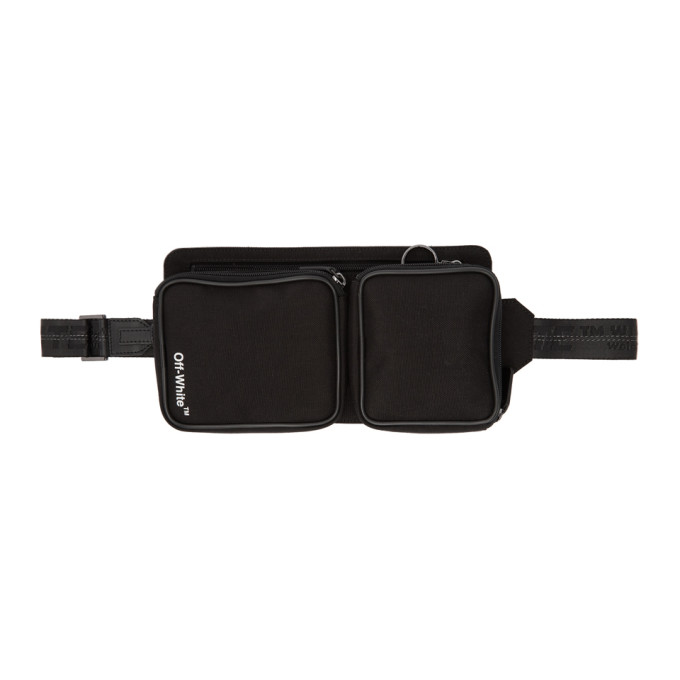 Off-White Black Cordura Help Belt Pouch