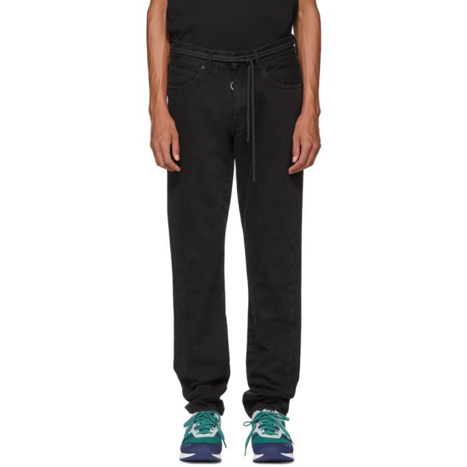 Off White Black Byredo Edition Slim Five Pocket Jeans