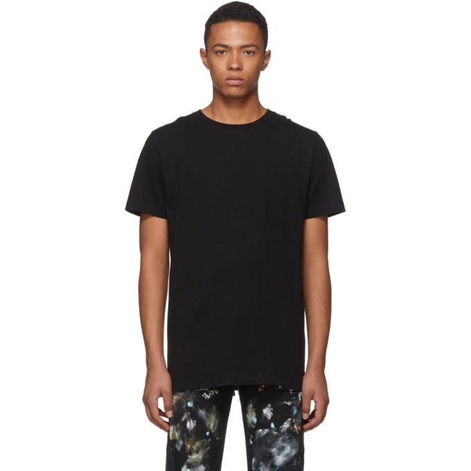 Off-White SSENSE Exclusive Black 3D Diagonal T-Shirt