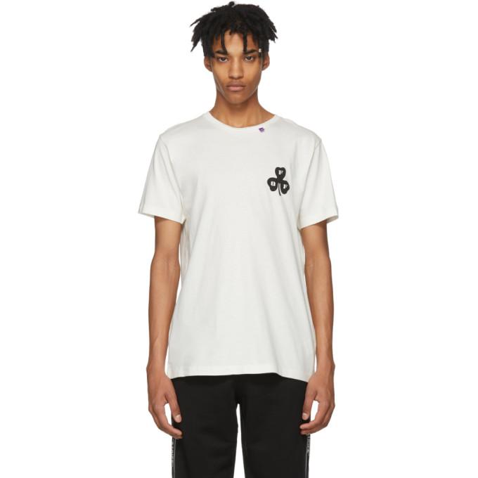 Off-White ホワイト スプレー ロゴ T シャツ