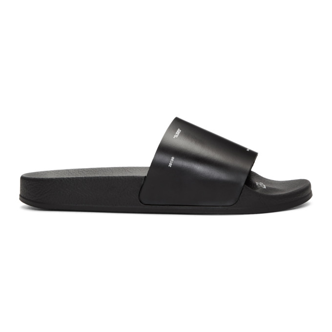Off-White Black Corporate Slides