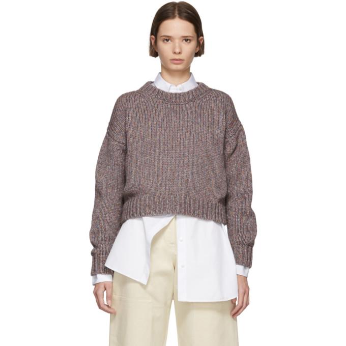 STUDIO NICHOLSON Studio Nicholson Multicolor Three Gauge Sweater in Tutti Frutt