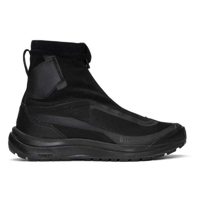 BORIS BIDJAN SABERI Black Salomon Edition Odyssey Bamba 2 Sneakers in Black/Black