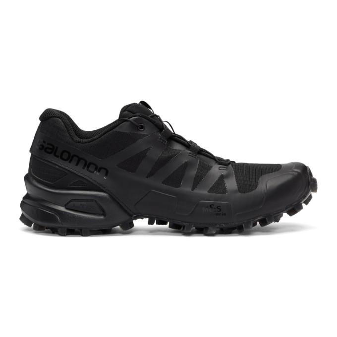 BORIS BIDJAN SABERI Boris Bidjan Saberi Black Salomon Edition Speedcross 3 Clear Sneakers in Black/Black