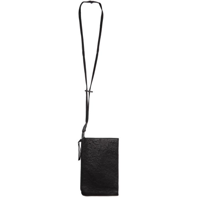 BORIS BIDJAN SABERI Black Zip-Around Wallet