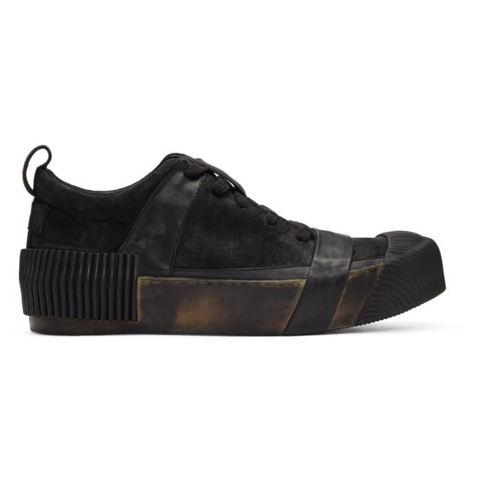 BORIS BIDJAN SABERI Boris Bidjan Saberi Black Horse Sneakers