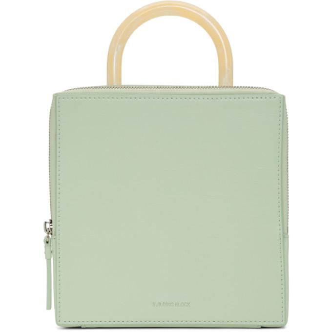Building Block Green Box Bag