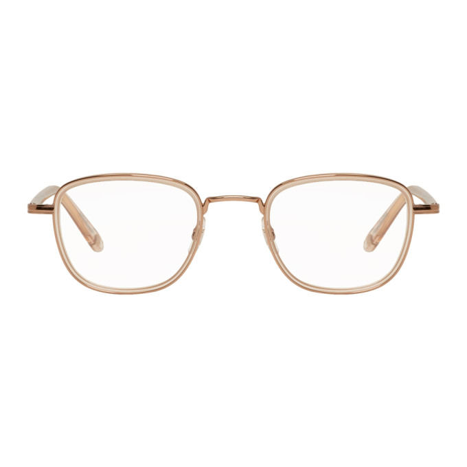 Garrett Leight Beige Garfield 46 Glasses