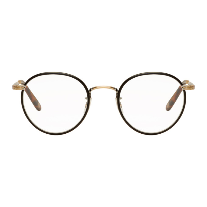 Garrett Leight Black Wilson 49 Glasses