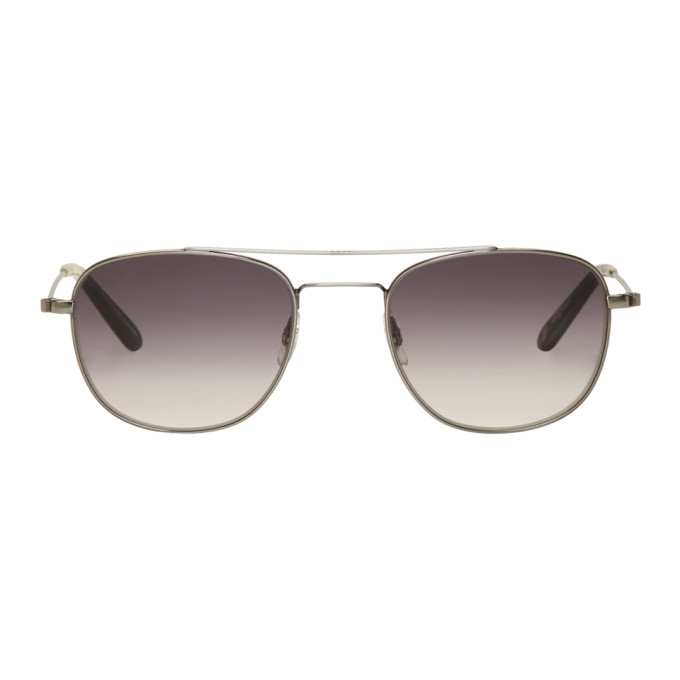 Garrett Leight Gunmetal Club House 50 Sunglasses
