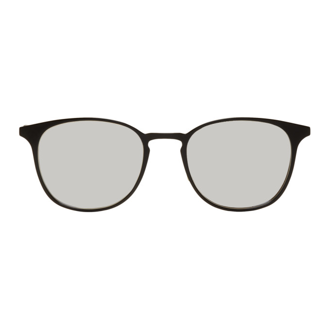 Garrett Leight Black Kinney M 52 Sunglasses