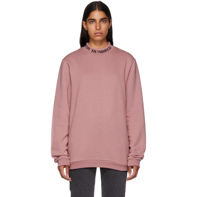 WON HUNDRED Won Hundred Pink Unisex Seattle Sweatshirt in 2512 Nostal