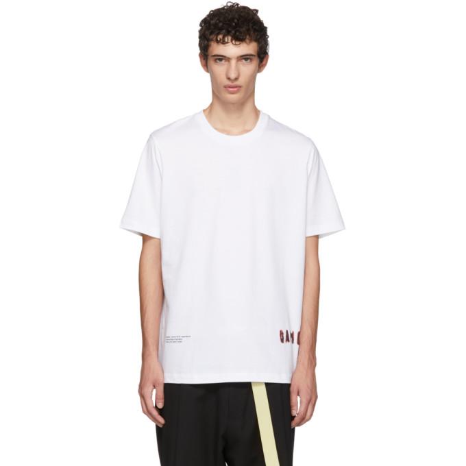 OAMC ホワイト Fabrik T シャツ