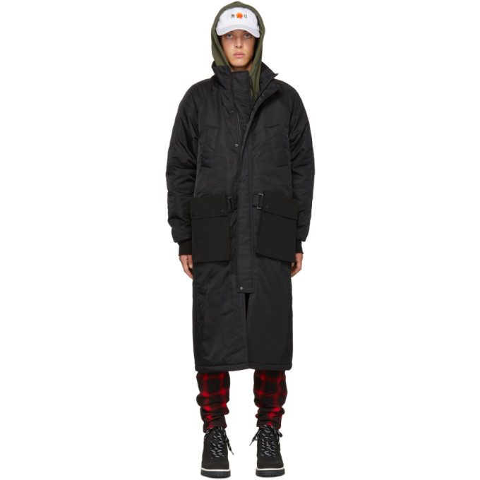 Image of D by D Black Outpocket Jumper Coat