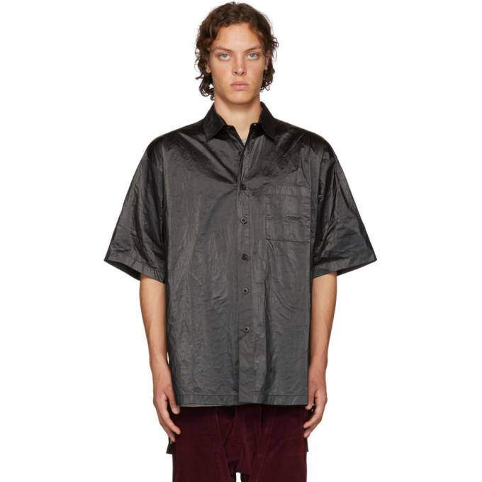 Image of D by D Black High Density Tyvek Shirt