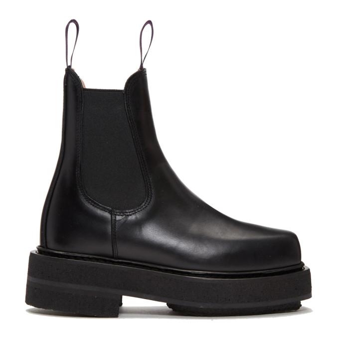 Eytys Black Ortega Boots