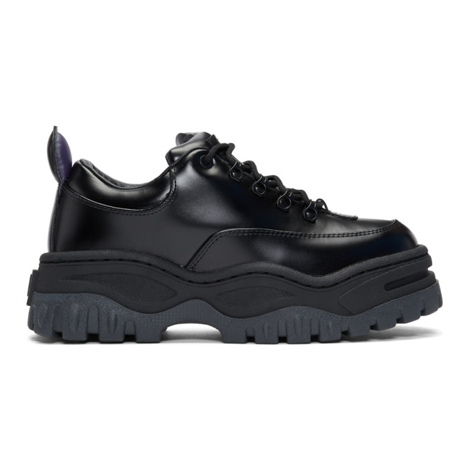 Eytys Black Leather Angel Sneakers