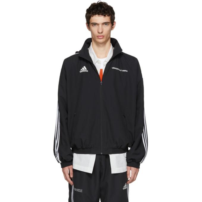 Gosha Rubchinskiy adidas Originals Edition ブラック フード ジャケット