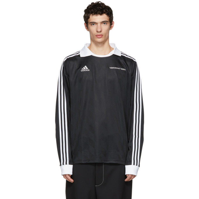 Image of Gosha Rubchinskiy Black adidas Originals Edition Jersey Shirt