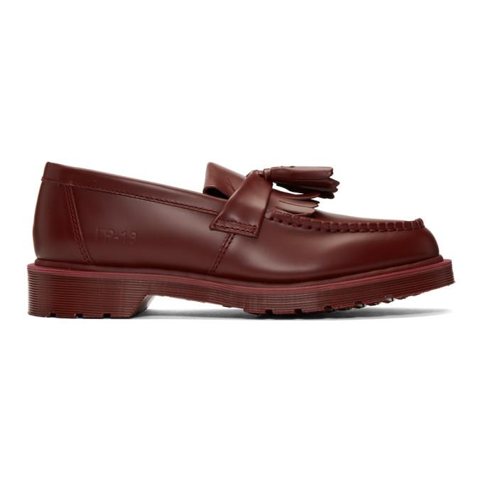 GOSHA RUBCHINSKIY Dr Martens Loafer Shoes in Purple