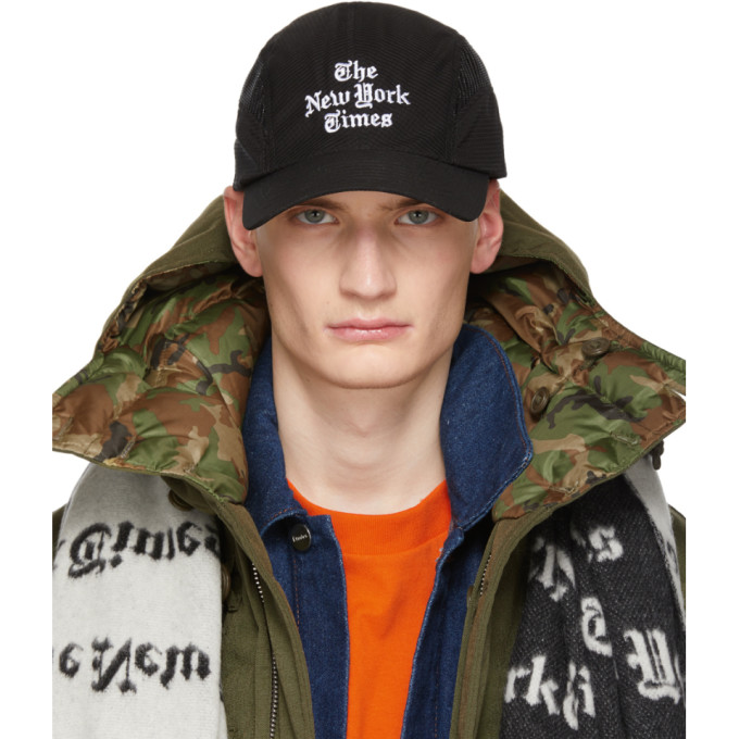Etudes Studio Caps ETUDES BLACK THE NEW YORK TIMES EDITION ZONE CAP