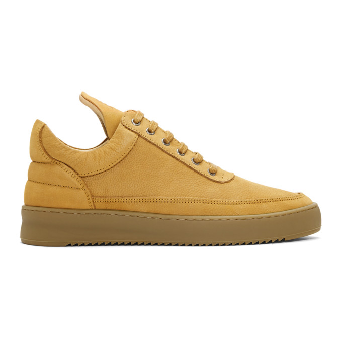 Image of Filling Pieces Beige Lane Gum Sneakers