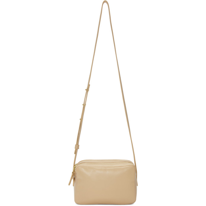 Mansur Gavriel Pink Double Zip Crossbody Bag