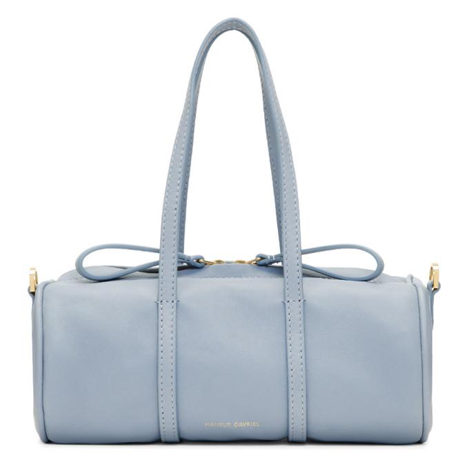 Mansur Gavriel Blue Mini Mini Gym Bag