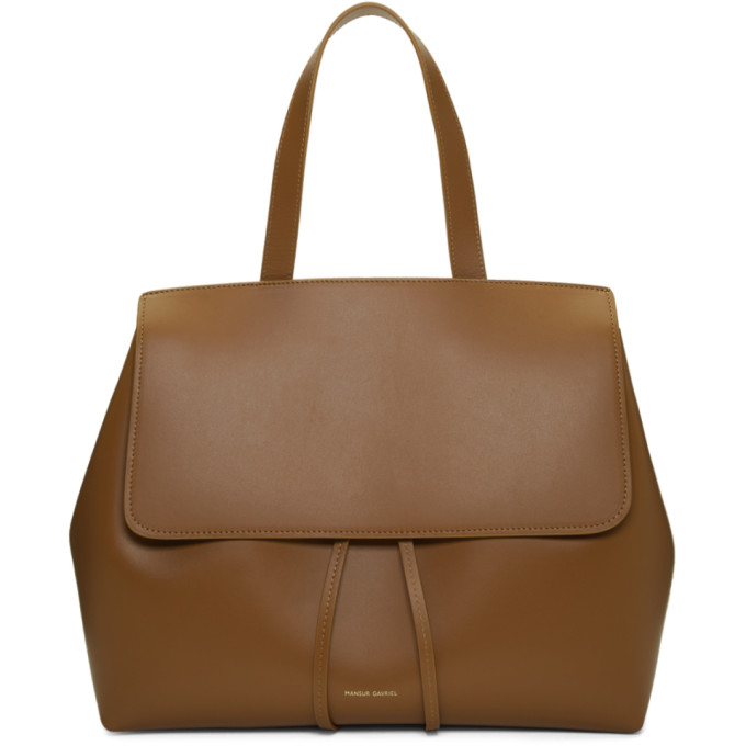 Mansur Gavriel Brown Lady Bag