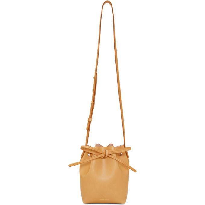 Mansur Gavriel Tan Mini Mini Bucket Bag