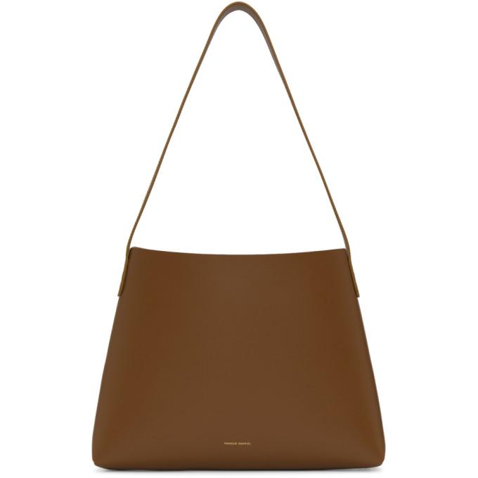 Mansur Gavriel Brown Small Hobo Bag