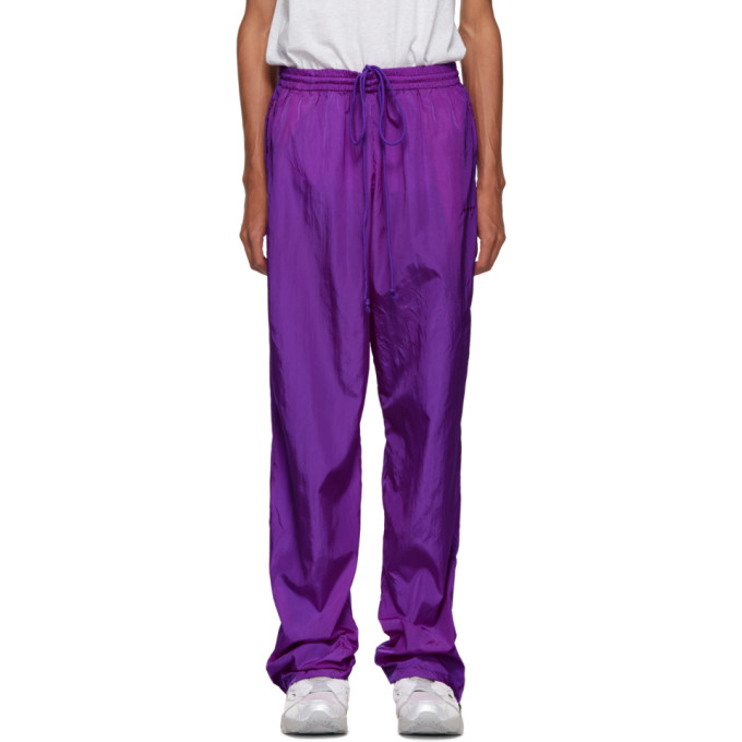 VETEMENTS Purple Sweatpants